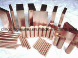 Tungsteno Copper Bar per Semiconductor