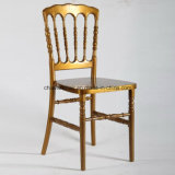 Commercial Wedding Furniture Gold Acrylic Resin Napoleon Flesh