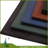 Elastic Shock Absorbtion Fitness Rubber Flooring Mat
