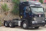 caminhão da cabeça do trator de 420HP Sinotruk HOWO A7 6X4
