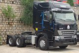 420HP Sinotruk HOWO A7 6X4のトラクターヘッドトラック