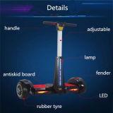Vespa eléctrica de dos ruedas F2 del control de la mano y del pie del equilibrio colorido del uno mismo