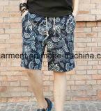 Gli Shorts della scheda dell'uomo stampato, asciugano rapidamente gli Shorts di nylon della spiaggia del tessuto
