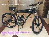 Новый двигатель 80cc черноты прибытия при черный моторизованный велосипед, участвуя в гонке Bike на сбывании