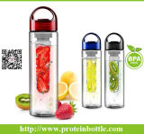 bottiglia di acqua di 700ml Tritan Fruit Infuser con Handle