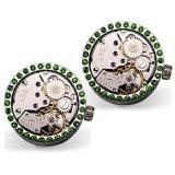 Heiße verkaufende neueste Art-Uhr-Bewegungs-Manschettenknöpfe für Männer Wm-1020