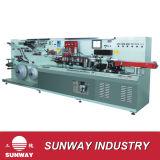 Machine à fabriquer des tubes laminés en aluminium et plastique (B. GLS-IV)