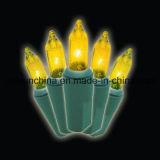Festão Sparkling do pinho do Pre-Lit com 100 luzes Incandescent desobstruídas (MY205.446.00)