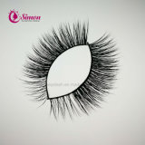 De luxueuze Mink geselt Wimpers van de Make-up van de Doos van het Pakket van de Douane de Kosmetische