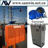 Élévateur électrique jumel des cages 1t 34m/Min 11kw de Sc100FC