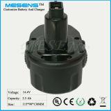 Drahtlose Werkzeug-Batterie für Dewalt 14.4V Ni-MH Batterie