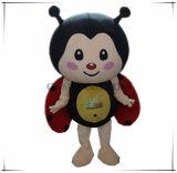 Traje feito-à-medida da mascote da joaninha qualidade superior