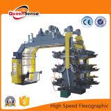 Equipo de alta velocidad de la máquina de impresión flexográfica
