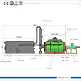 Caucho móvil del estilo 3ton a la máquina de reciclaje diesel