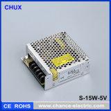 Ein-Output-Gleichstrom-Schaltungs-Stromversorgung 12V 15W (S-15W-12V)