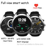 3G Smart Watch Phone com navegação GPS e WiFi Wireless Internet (X5)