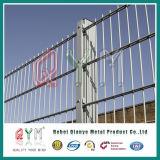 Гальванизированная загородка ячеистой сети PVC Coated двойная штаног/орнаментальная двойная проволочная изгородь петли