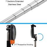 可聴周波ケーブル新しいクランプおよびミラーが付いているステンレス鋼のSelfieの小型棒