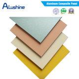 Los paneles compuestos de aluminio materiales de Acm ACP de la decoración de Storfront (4mm*0.30m m)