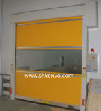 Puerta de alta velocidad del garage de la tela del PVC para el almacén