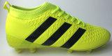 Новый прозрачный единственный ботинок футбола с подошвой Spandex