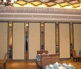 Алюминиевая подвижная стена перегородки и складывая стены перегородки стен деревянные акустические складывая для гостиницы