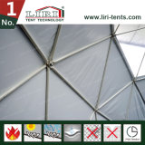 Tente chaude de dôme géodésique de vente pour des événements de première qualité