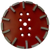 Плита диаманта 10 дюймов конкретная меля для радиальной машины рукоятки