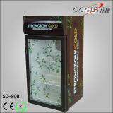Neue Supermarkt-Gebrauch-Getränkebildschirmanzeige-Kühlvorrichtung (SC80B)