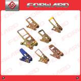 Il cricco lega giù gli inarcamenti con plastica, Ruber, maniglia del metallo (1′ ′ -4′ ′)