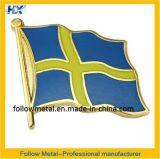Insignia con la bandera del logotipo 2