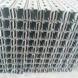 Suporte galvanizado montagem do aço estrutural do telhado do painel solar