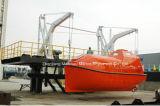 Canot de sauvetage totalement inclus de Fibergalss, bateau de sauvetage