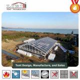 Aluminiumrahmen-im Freienzelte für Parteien/Hochzeit mit transparentem Belüftung-Dach