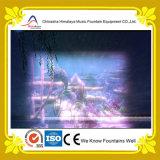 Großer Musik-Brunnen mit Wasser-Bildschirm und Laser