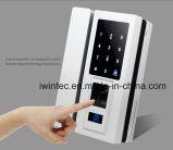 Bloqueio de teclado digital com impressão digital para porta de vidro