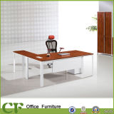L Form-Büro-Executivschreibtisch CEO-Schreibtisch mit Tt-Aluminium-Rahmen