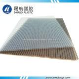 Painel geado de policarbonato de parede dupla com 10 anos de garantia