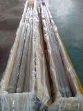 Pipe sans joint d'acier inoxydable de fini de satin pour la construction