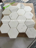 Großhandelsgoldmarmor-Hexagon Calacatta Mosaiken italien-Calacatta