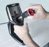 endoscopio industriale di controllo di 6.0mm video con il video dell'affissione a cristalli liquidi di 3.5 '' TFT, cavo difficile di 5m