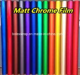 無光沢のクロム氷のフィルム、ローズの手段の包むことのための赤い無光沢のクロムビニールのフィルム