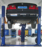 Dois Post Floor Plate Auto Jack Hydraulic Car Lift para reparação