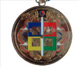 Sport personalizzato Running Marathon Metal Medallion Medal con Ribbon