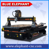 Ele 4X8 CNC Router 1325 4 Axis met Rotary Device voor Round Materials