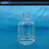 Bottiglia cosmetica del polacco di chiodo della cristalleria trasparente