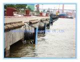 Defensa de goma marina del cono para el muelle