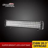 216W la luz de gran alcance tres nos rema barra ligera del CREE LED