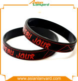 Lates Entwurfs-Form-bunter SilikonWristband