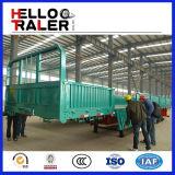 판매를 위한 널리 이용되는 반 3개의 차축 측벽 트레일러